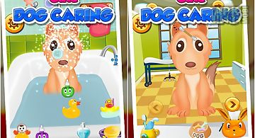 Cute dog caring 3 - kids game