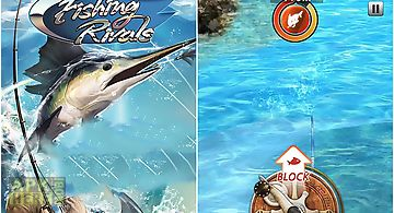 Fishing rivals: hook and catch