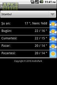 hava durumu