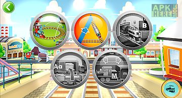Kids abc letter trains (lite)