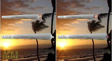 Weed joint hd battery widget
