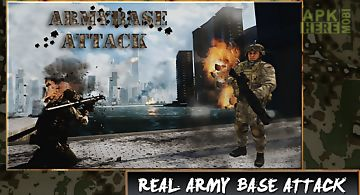 Army base attack - commando 3d