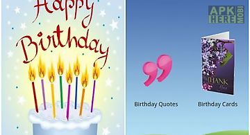 Birthday Wishes Quotes For Android Free Download At Apk Here Store