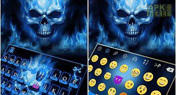 Flaming skull kika keyboard