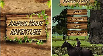 Jumping horse adventure
