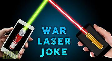 Laser war joke