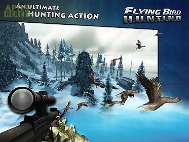 flying bird hunting