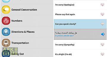 Learn arabic phrasebook