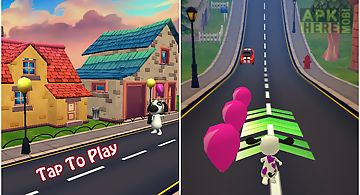 My cute puppy pets runner