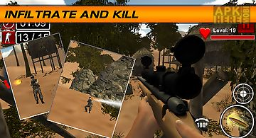Sniper shooter desert kill 3d