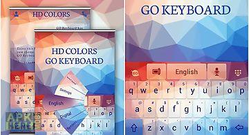 Hd colors go keyboard theme
