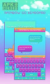 rainbow go keyboard theme