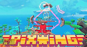 Pixwing: flying retro pixel arca..