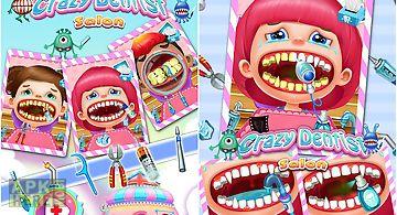 Crazy dentist salon: girl game