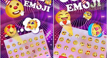 Cute emoji for kika keyboard