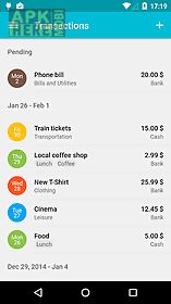 Financius - expense manager for Android free download at Apk