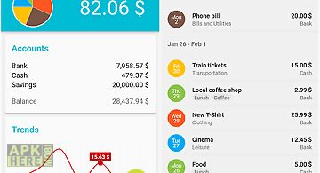 Mymoney  expense manager for Android free download at Apk Here store