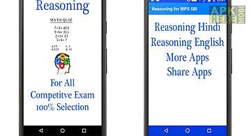 Reasoning for ibps sbi