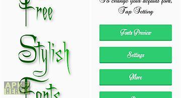 Stylish fonts