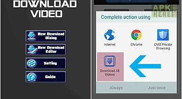 Download video fastest