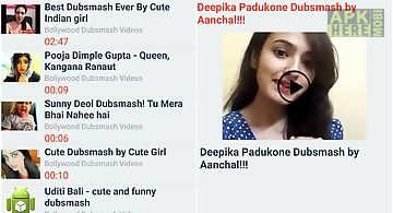 Bollywood dubsmash videos