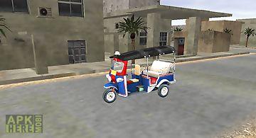 Park it tuk tuk taxi simulator