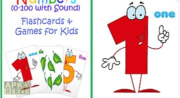 0-100 kids learn numbers game