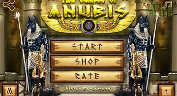 Egypt legend: temple of anubis