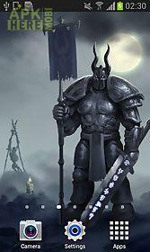 knight dark fantasy wallpaper