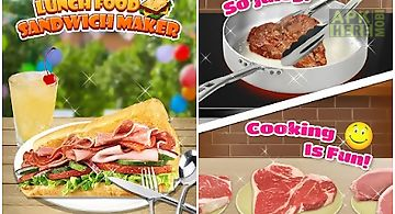 Lunch food: sandwich maker
