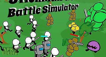 Stickman gun battle simulator