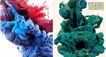 Inks in water Live Wallpaper