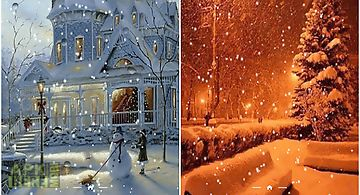 Snowfall by frisky lab Live Wall..