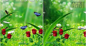 Summer garden Live Wallpaper