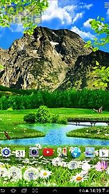 summer landscape live wallpaper