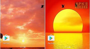 Sunset by twobit Live Wallpaper