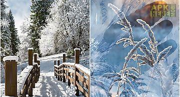Winter landscapes Live Wallpaper