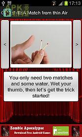 magic-tricks tutorials