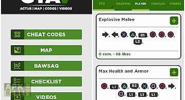 Gta v cheats for Android free download at Apk Here store