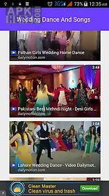 wedding dance and songs