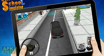 Driving school simulator 3d