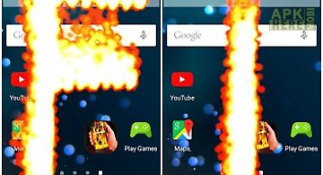 Fire phone screen effect