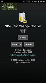 sim card change notifier