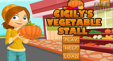Cicilys vegetable stall