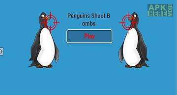 Penguins shoot bombs