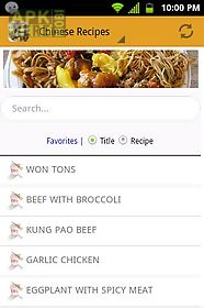 Chinese food recipes free for android free download at apk here chinese food recipes free chinese food recipes free forumfinder Image collections