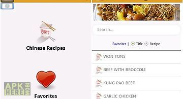 Chinese recipes food for android free download at apk here store chinese food recipes free forumfinder Gallery
