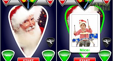 Naughty or nice photo scanner