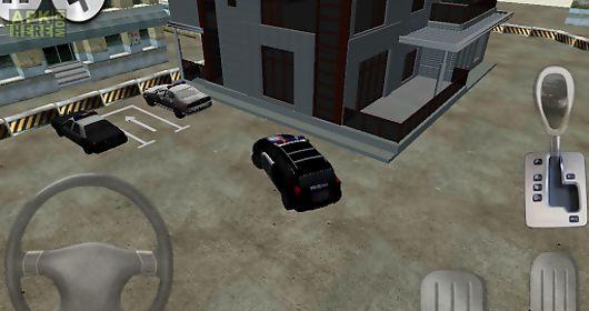 police 3d car parking