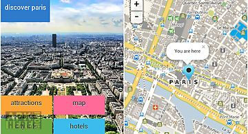 Paris offline map for tourists